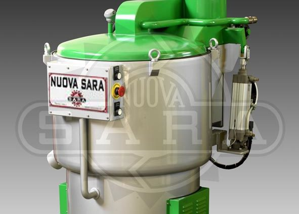 Centrifuga di filtrazione centrifuga per fanghi