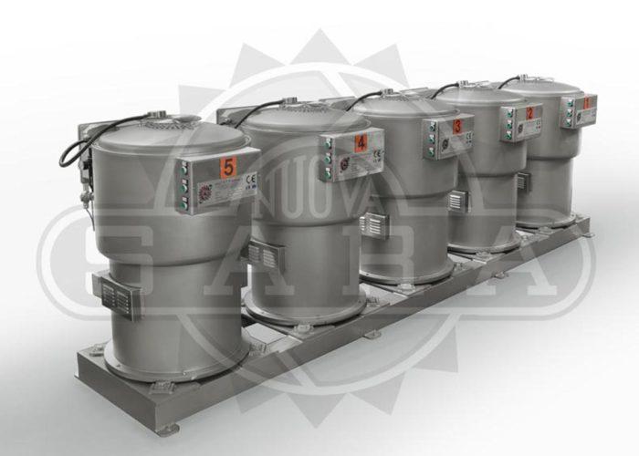 Linea di centrifugazione automatica